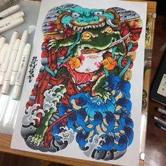 tattoos in japanese prints Japanese Tattoo Women, Japanese Sleeve Tattoos, Yakuza Tattoo, Back Piece Tattoo, Back Tattoo, Japanese Prints, Japanese Design, Japanese Style, Daruma Doll Tattoo