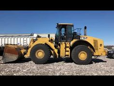 2008 CAT 980H WHEEL LOADER Used Equipment, Heavy Equipment, Heavy Machinery, Sale Promotion, Image House, Tractors, Cats, Specs, Sofa