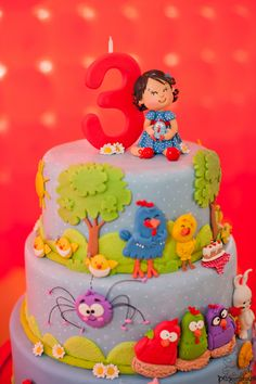 Galinha Pintadinha Birthday Party Planning Supplies Ideas Cake Idea