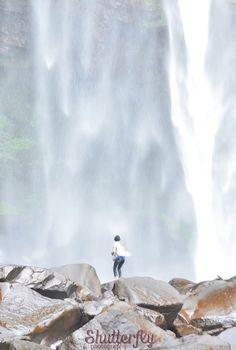 Nawang Wulan and the tears of Niobe — at Curug Cipendok.
