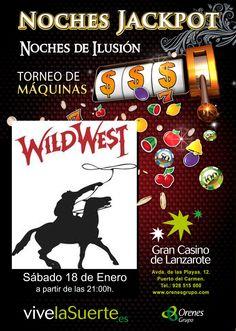 """Noches Jack Pot """"Wild West"""""""