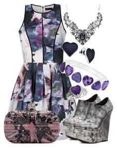 """""""Lilac Outfit"""" by deedee-pekarik ❤ liked on Polyvore featuring Ally Fashion, Qupid, Alexander McQueen, BillyTheTree, Liz Claiborne, women's clothing, women, female, woman and misses"""