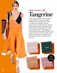 Tangerine  - Color Crash course