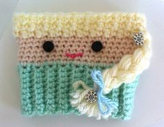 Elsa Inspired Cup Cozy Frozen Inspired Cup Cozy by InChains