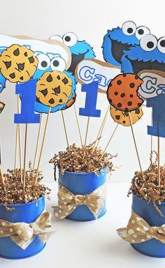 Easy DIY Cookie Monster Party Ideas! You don't have to spend a lot of money to plan a great party! My ideas are super easy and super affordable!