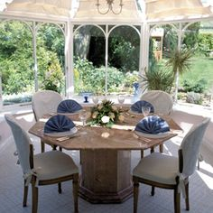 Our Octavia Table is handcarved from pure Rosa marble and is available in other colours.  Please contact us for further information.  UK delivery service available. #marble #table #conservatorytable #garden #stonefurniture #stonetable #vintage #www.montpellier.co.uk