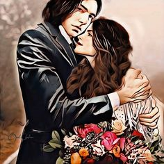 Snamione : Here to Protect You by OpalChalice on DeviantArt Snape And Hermione, Hermione Granger, Lily Potter, Harry Potter, Alan Rickman Severus Snape, Erica, Wattpad, Fandoms, Fan Art