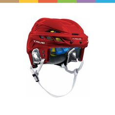 Hockey Helmet, Bicycle Helmet, Skates, Sticks, Sports, Products, Red, Hs Sports, Cycling Helmet
