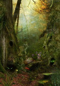 "Elves Faeries Gnomes:  ""#Goblins,"" by Jena DellaGrottaglia, at deviantART."