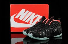 new style c606a 60bbf Mens-Womens Nike Air Foamposite One Black   Red