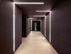 Luxury villa with amazing LED light systems