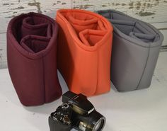 Turn your purse or backpack into a Camera Bag! Foam padded insert Water resistant, Darby Mack- Made in USA  in stock