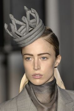 more hats like the one Jan posted from Jean Paul Gaultier Fall 2007 - Details