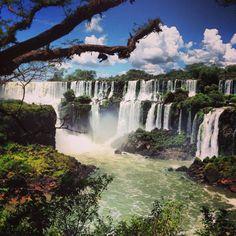 Iguazu Fall, Argentina in Pôrto Meira, Paraná