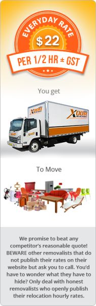 "****1 Man & 2t Van**** For small, light items of furniture, luggage, and cartons, with one removalist and our ""Nemo"" van at AU$22 per half an hour, you just keep moving! http://bit.ly/1VtC2a8"