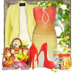 #Happy #Easter Gloria by doozer on #Polyvore