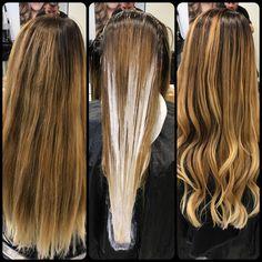 Balyage Long Hair, Balayage Hair, Daniel Golz, Balayage Technique, White Hair, Hair Beauty, Hair Color, Long Hair Styles, Blond