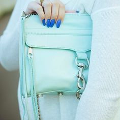 Shades of blue, bag from Nordstrom Rack