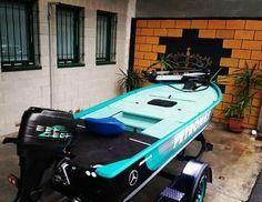 Custom mercedes jon boat