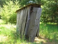 Decorating an Outhouse Bathroom