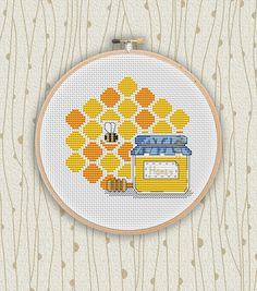 Cross stitch pattern in PDF. NOT A PHYSICAL PRODUCT!   __________________________________________________________________________________  BUY 2 PATTERNS AND GET 1 FREE! How: Buy 2 patterns and send me link of 3 in your Message to seller. The 3 pattern Ill send to your email during 24 hours after purchase. __________________________________________________________________________________   Stitches: 59w X 56h stitches. Colors: 9 dmc floss colors. Stitches required: Full cross stitches…