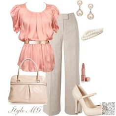 12. #Pretty Ruffled Top - #Office is a Hoot with Fun Outfits like #These ... →…