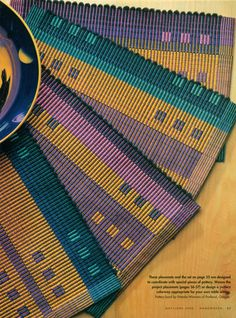 Eight for Eight: Block Design with Warp Rep - Magazine Article by Rosalie Neilson