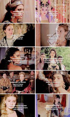 history + female regents