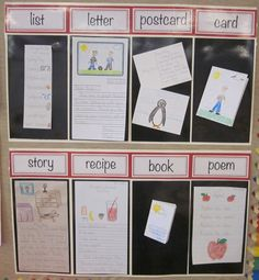 Great way to show reasons we write ... writing center?
