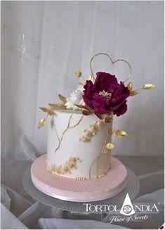 Modern Birthday Cakes, 25th Birthday Cakes, Birthday Cake For Him, Beautiful Birthday Cakes, Birthday Cakes For Women, Beautiful Cakes, Birthday Cards, Pretty Wedding Cakes, Wedding Cake Designs