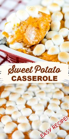 Holiday Side Dishes, Thanksgiving Side Dishes, Thanksgiving Desserts, Thanksgiving 2020, Fall Recipes, Holiday Recipes, Vegan Recipes, Cooking Recipes, Sweet Potato Casserole