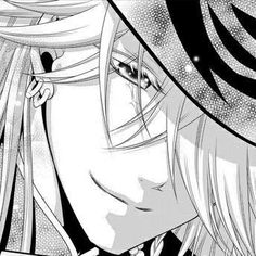 Undertaker - Black Butler  The reason i could die cuz a heart attack