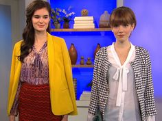 Fall fashion: Clashing colors, leather, vintage