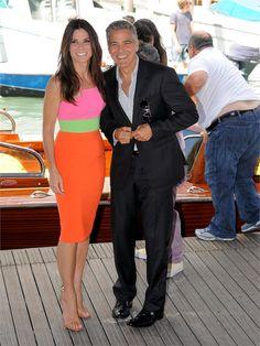 Sandra Bullock, George Clooney |.| Festival del Cinema di Venezia - VanityFair.it