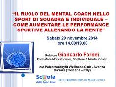 Pratichi sport? In REGALO, per te, le slide del mio intervento al corso organizzato dal Coni Massa Carrara (29/11/2014)…