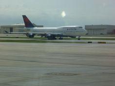 Delta B747-400