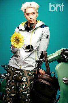 2PM - Chansung - bnt International October 2014