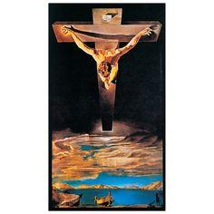 DALÌ - La santificazione di Giovanni attraverso Cristo, 1951 41x73 cm #artprints #art #prints #interior #design #SalvadorDalí #Dalí Scopri Descrizione e Prezzo http://www.artopweb.com/autori/salvador-dali/EC15138