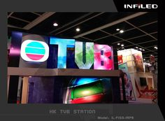 INFiLED P6 Indoor fixed Screen Used for HK TVB Station