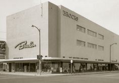 Brock's Department Store built by Malcome Brock opened in 1924 on Chester Avenue