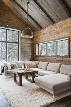 If you are looking for Chalet Living Room Decor Ideas, You come to the right place. Here are the Chalet Living Room Decor Ideas. This article about Chalet. Chalet Design, Chalet Style, Lodge Style, Living Room Decor Cozy, Lamps For Living Room, Cottage Living, Cabin Interiors, Rustic Interiors, Cabin Homes