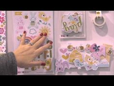 Sweet Sweet Spring Collection by Bella Blvd - CHA Winter 2016 Video