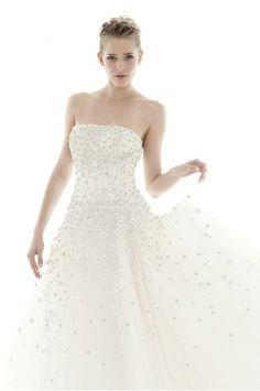 Corte Princesa Strapless Vestidos de novias 2014 Moderno ANASTASIA
