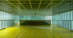 Vacchini, Livio: Gymnasium, Locarno, Switzerland: Architecture, Sculpture | The Red List