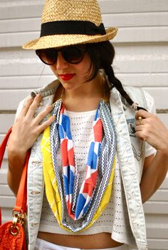 Love this scarf and hat