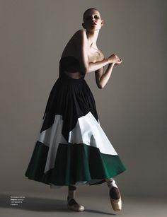 Magdalena Jasek i Ola Rudnicka na okładkach Vogue i Harper's Bazaar