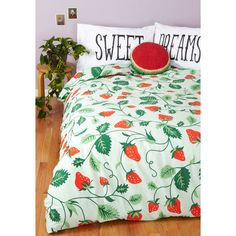 ModCloth Dorm Decor Lull Me To Sweet Duvet Cover (74 BRL) ❤ liked on Polyvore featuring home, bed & bath, bedding, duvet covers, twin xl bedding, x long twin bedding, lightweight bedding, twin bedding and twin bed linens