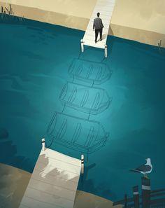 illustration by giovanni da re