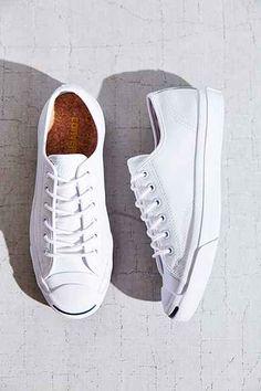 Converse Jack Purcell Tumbled Leather Low-Top Sneaker Scarpe Da Tennis 5b0db96f985