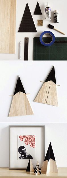 13. Geometric Christmas Trees